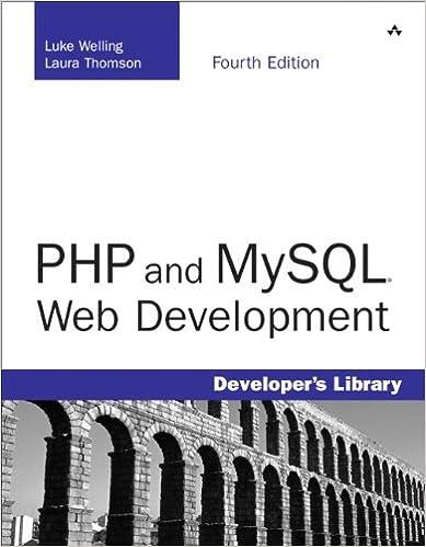 PHP And MySQL Web Development 4th Edition Luke Welling Laura Thomson 0752063329160 Amazon Books