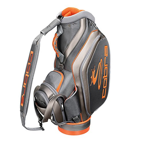 Cobra Staff Golf Bag Grey/Orange 10-Inch Top