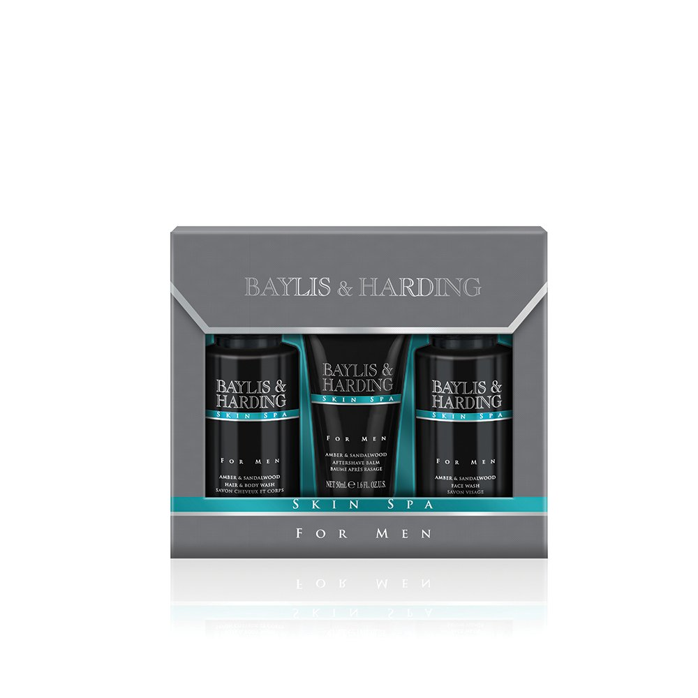 Baylis & Harding Skin Spa Men's Grooming Trio Gift Set SSM18SML3PC