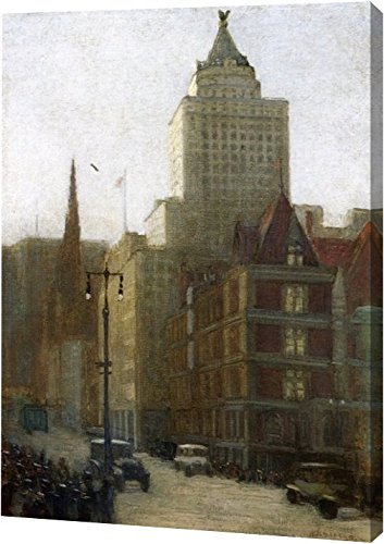 57th Street at Fifth Avenue by Aaron Harry Gorson - 11