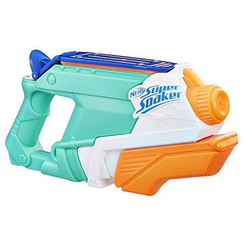 The Nerf Super Soaker SplashMouth is a new favorite outdoor water toy for kids