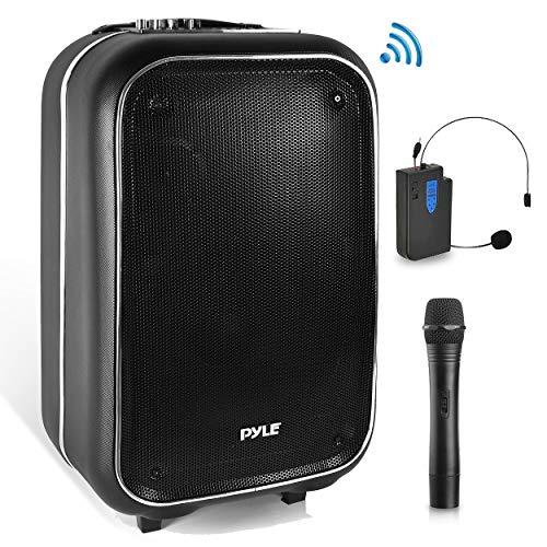 Pyle Pa Speaker karaoke machine Wireless Bluetooth With Wire