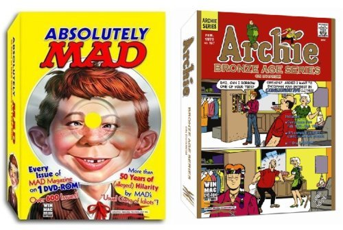 - Archie Comics - Bronze Age Series & Absolutely MAD Magazine DVD-ROM Bundle for Windows & Mac (CD-ROM)