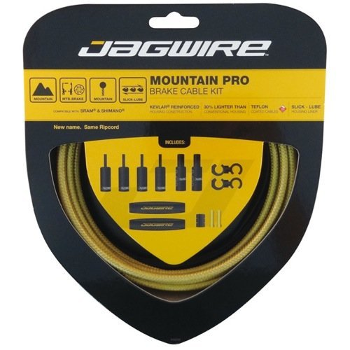 Jagwire Ripcord Brake Cable - Jagwire Mountain Pro Brake Cable Kit Gold Medal