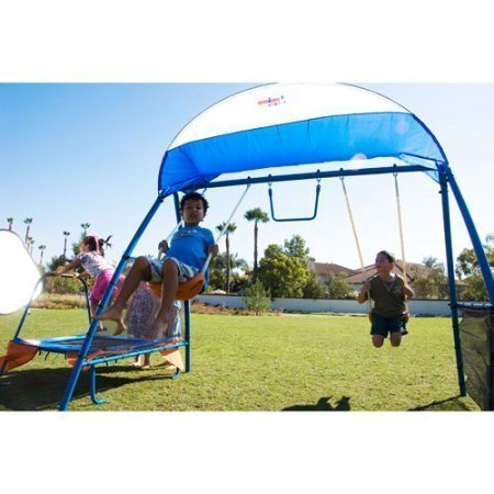 NEW Inspiration 250 Fitness Playground Metal Swing Set by IRONKIDS (Image #3)
