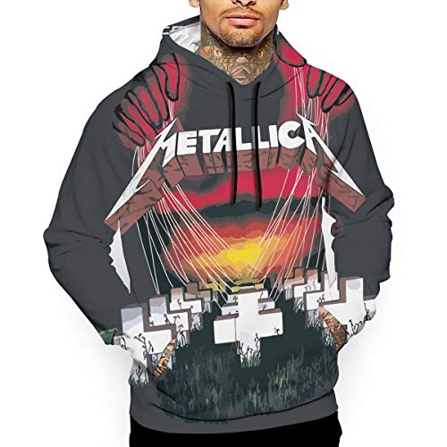 Used, Choirfun Metallica Master of Puppets Mens Casual Pullover for sale  Delivered anywhere in Canada