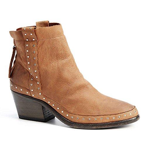 Boots Camel Cowboy Brown XUZ Women's xwnHUTUSf