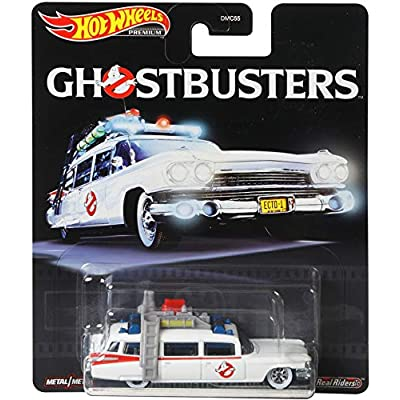 Hot Wheels Premium 2020 Real Rider 1/64 Ghostbusters ECTO 1: Toys & Games