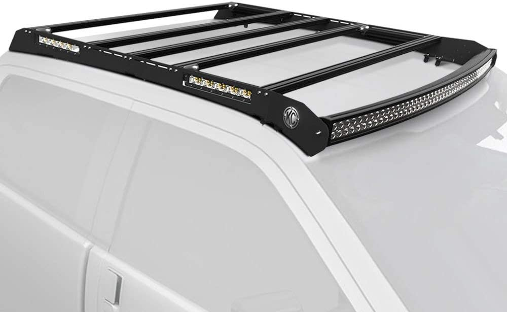 KC M-Racks 50 C-Series Roof Rack Compatible with Ford F150//Raptor 15-19 /& F250//F350//F450 17-19