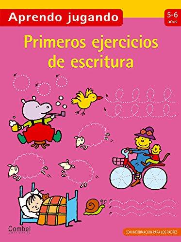 Primeros ejercicios de escritura (Aprendo jugando) (Spanish Edition)