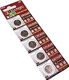 Electronics Best Deals - 5PCS x CR1620 Alkaline Button Cell Battery 3V [Electronics]