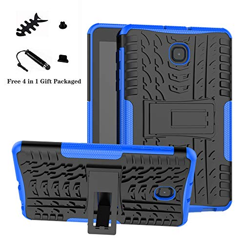 Galaxy Tab A 8.0 case,LiuShan Shockproof Heavy Duty Combo Hybrid Rugged Dual Layer Grip with Kickstand for 8.0