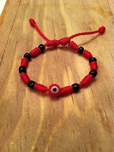 Baby Red string evil eye bracelet.