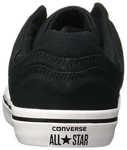 Converse El Distrito Sneaker Basso In Canvas Nero / Bianco / Nero