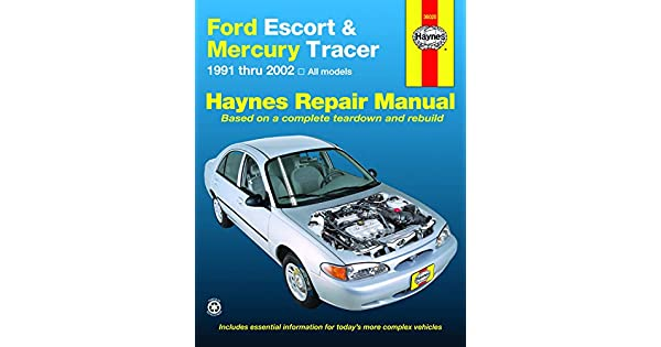 Ford Escort Mercury Tracer 91 02 Haynes Publishing
