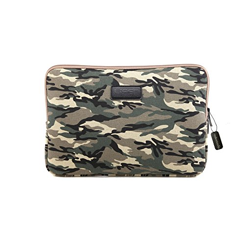 Black Deals Friday Cyber Deals Monday Sale-Valentoria13.3 Inch Laptop Sleeve Case-Camouflage Style Ultrabook Sleeve Macbook Bag For Acer/iPad Pro/Lenovo/Macbook Pro/Macbook Air/Surface Pro 4 (Coffee) (Best Cyber Monday Laptop)