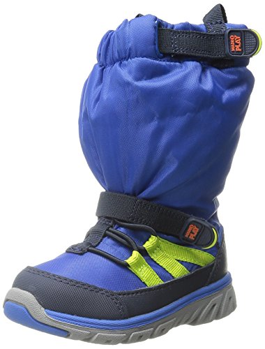 Stride Rite Made 2 Play Sneaker Winter Boot (Toddler/Little Kid), Blue, 10.5 M US Little (Blue Fleece Winter Boots)