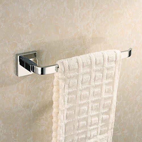 Konhard 3208 Soild Brass Towel Ring/Bar Towel Rack Holder (28CM), Chrome