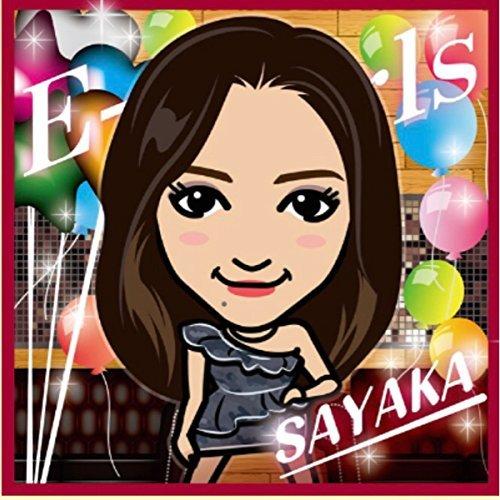 E-girls Happiness SAYAKA ハンドタオル 2017カレンダー衣装 ガチャの商品画像