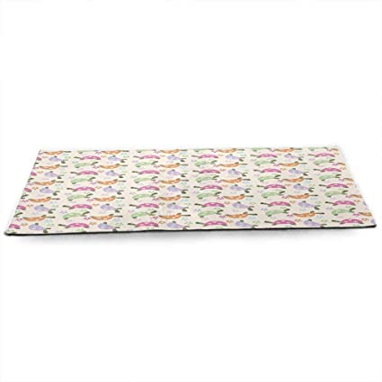 Amazon.com : WinfreyDecor Kids Eco Friendly Yoga Mat ...