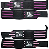 Wrist Wraps (2 Pairs/4 Wraps)for Weightlifting/Cross...