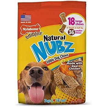 Amazon.com : Nylabone Nubz Natural Dog Chews, Treats For