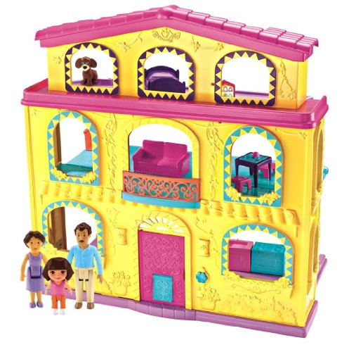 Fisher-Price Dora The Explorer: Playtime Together Dora and Me Dollhouse by Nickelodeon