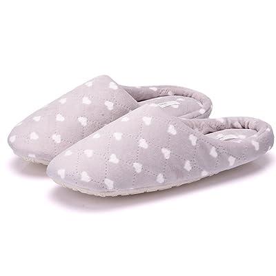 Adult Cartoon Animal/Dot/Flower Soft Plush Non-slip Indoor Winter Warm Slippers