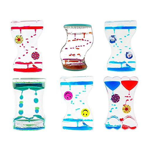 or Bubble Drop Desk Fun Swirl Magic Water Timers (4-PACK (ASSORTED)) (Dual Toy)