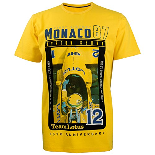 Ayrton Senna Monaco 1st Victory Tee