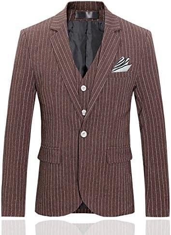 メンズ スーツ ベスト付き スリーピース 3点セット フォーマル 上下 一つボタン ジャケット スリム カジュアル スタイリッシュ ビジネス・パーティー・結婚式・披露宴 おしゃれ オールシーズン