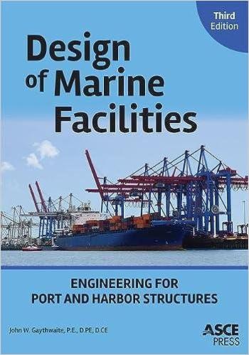 Amazon com: Design of Marine Facilities: Engineering for