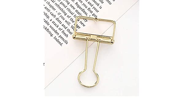 TAOtTAO Long Tail Clip 1pc Metal Clip Cute Binder Clips ...