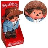 Kiki - Monchhichi - Cowboy Western Boy 20cm Poupée
