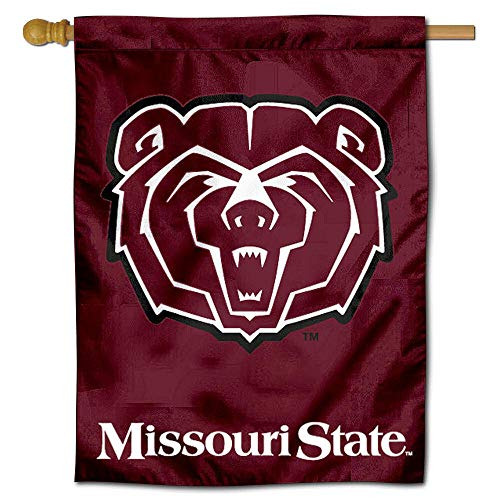 College Flags and Banners Co. Missouri State Bears House Flag