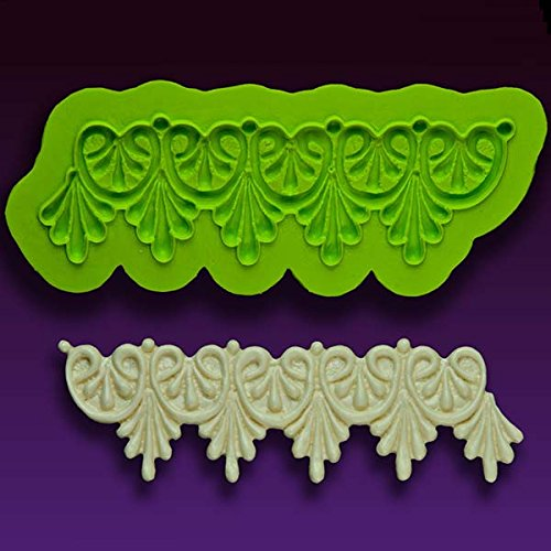Earlene's Enhanced Lace ''Betty'' Mold by Marvelous Molds