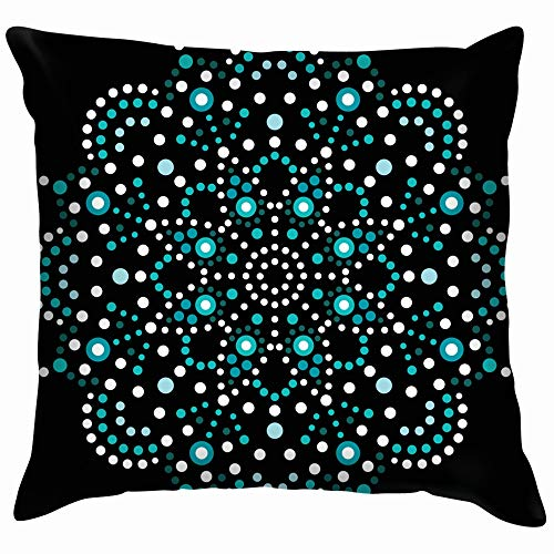 Dot Art Mandala Traditional Aboriginal Soft Cotton for sale  Delivered anywhere in Canada