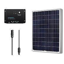 Renogy 100W 12V Polycrystalline Solar Bundle Kit