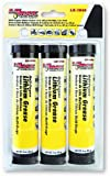 Lumax LX-1901 Amber Multi-Purpose Lithium Grease Cartridge - 3 oz, (Pack of 3)