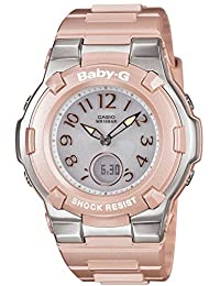 Casio Baby-G Shock Resist Lady's Solar Charged Watch - MULTIBAND 6 - Tripper - BGA-1100-4BJF (Japan Import)