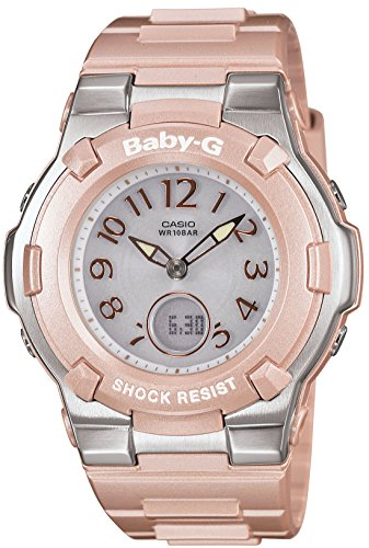 Casio Baby-G Shock Resist Lady's Solar Charged Watch - MULTIBAND 6 - Tripper - BGA-1100-4BJF (Japan (Casio Baby G-shock Resist)