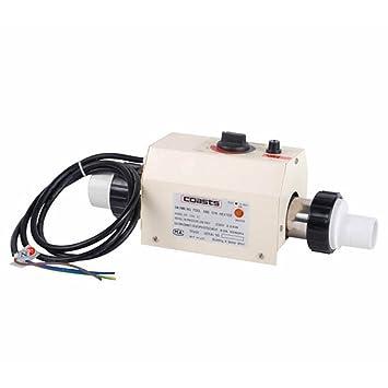 ParaCity 220 V 2 KW nueva piscina y Spa calentador eléctrico calefacción termostato