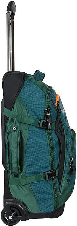 Green Orben Windwalker 22 Inch Wheeled Carry-On Duffel