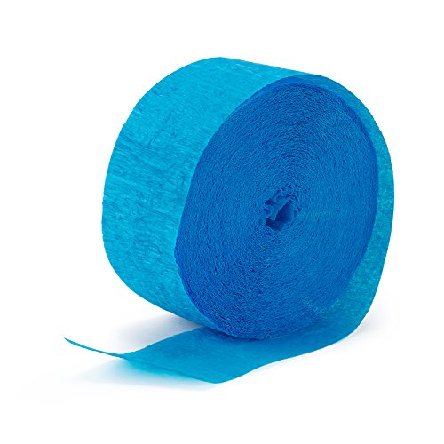 Aqua Blue (Turquoise) Streamer (1 roll) ()
