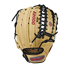 The new Wilson A2000 OT6 features a one-piece, six finger palm/web and is available in both left- and right-hand throw. It's perfect for outfielders looking for a longer glove with more feel and less rebound. Designed with blonde Pro stock le...