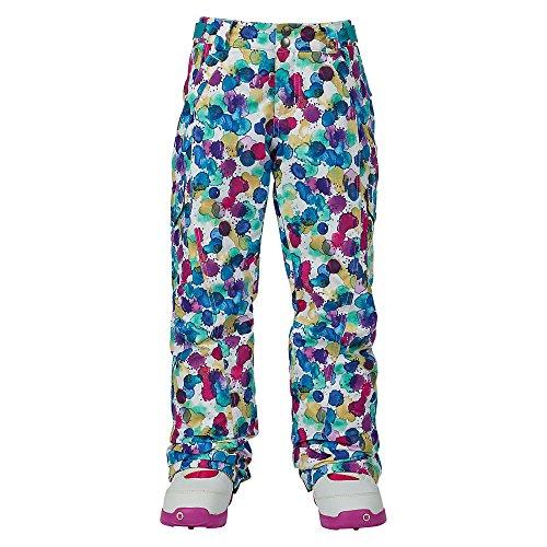 Glove Girls Elite (Burton Youth Girls Elite Cargo Pants, Rainbow Drops, X-Small)