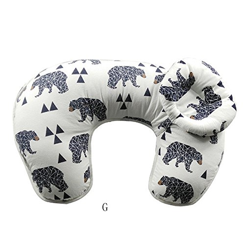 Babybooper Multi Function Nursing Pillow Maternity Pillow U-Shaped Breastfeeding Pillow Cotton Feeding Waist Support Cushion by Miracle Baby