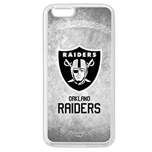 """Onelee Customized NFL Series Case for iPhone 6 4.7"""", NFL Team Oakland Raiders Logo iPhone 6 4.7 by runtopwell"""