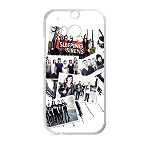 Sleeping With Sirens Fashion Comstom Plastic case cover For HTC One M8