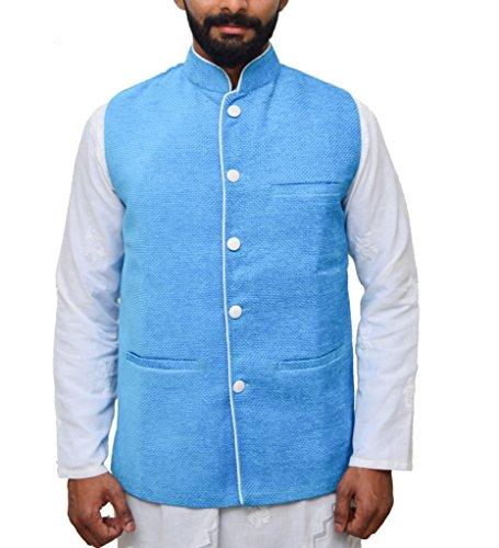 nexis-sundry-mens-ethnic-wear-nehru-jacket-blue